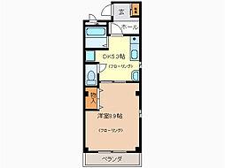 さくら荘[2階]の間取り