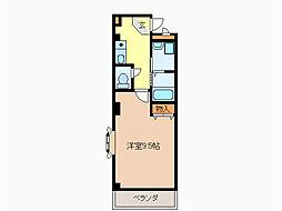 ロイヤルプレジオ菅田[3階]の間取り
