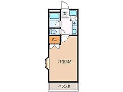 エトワール弐番館[2階]の間取り