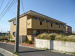 愛知県名古屋市緑区桶狭間清水山の賃貸マンションの外観