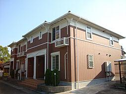 愛知県名古屋市緑区桶狭間北3の賃貸アパートの外観