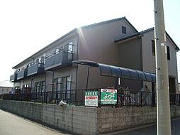 愛知県名古屋市緑区桶狭間清水山の賃貸アパートの外観