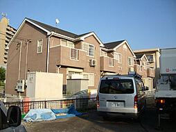 愛知県豊明市新田町中ノ割の賃貸アパートの外観