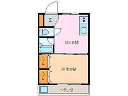 アクセスコートV[1階]の間取り