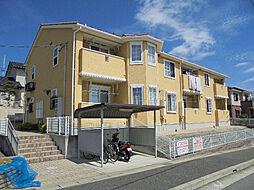愛知県名古屋市緑区高根山1丁目の賃貸アパートの外観