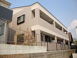 愛知県名古屋市緑区桶狭間切戸の賃貸アパートの外観