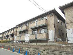 愛知県名古屋市緑区黒沢台1丁目の賃貸アパートの外観