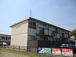 愛知県名古屋市緑区桶狭間の賃貸アパートの外観