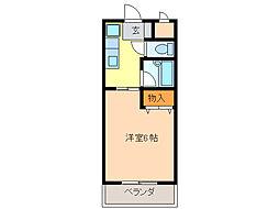 愛知県名古屋市緑区鳴海町字光正寺の賃貸マンションの間取り