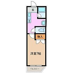 メゾンタカハシ[2階]の間取り