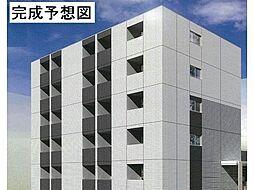 愛知県名古屋市緑区作の山町の賃貸マンションの外観