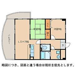 翔21[4階]の間取り