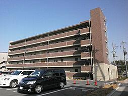 滋賀県東近江市東沖野2丁目の賃貸マンションの外観