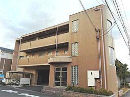 滋賀県東近江市八日市東浜町の賃貸マンションの外観