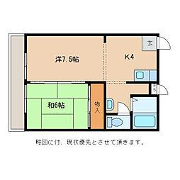 セイコーマンション[1階]の間取り