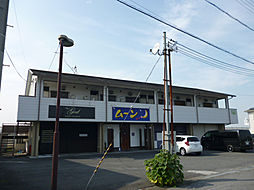 岡俊アパート[2階]の外観