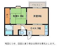 ドミール21[2階]の間取り