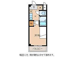 グランディール松尾[2階]の間取り