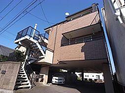 岐阜県岐阜市権現町の賃貸マンションの外観