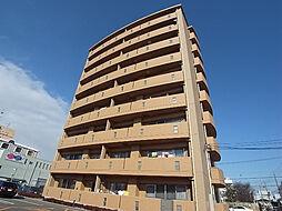 岐阜県岐阜市東鶉1丁目の賃貸マンションの外観