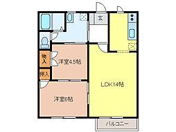 セフィラマキタ[2階]の間取り