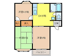 ASA・2[1階]の間取り