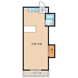 パティオM[2階]の間取り
