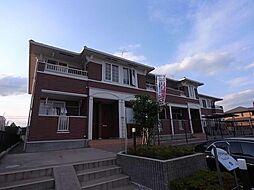 岐阜県各務原市川島小網町の賃貸アパートの外観