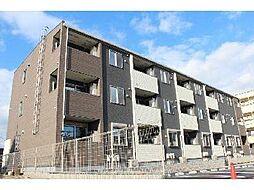 愛知県岡崎市昭和町字落合の賃貸アパートの外観