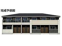 愛知県刈谷市泉田町大久屋の賃貸アパートの外観