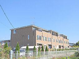 茨城県古河市桜町の賃貸アパートの外観