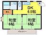 間取り,2DK,面積39.5m2,賃料3.9万円,JR東北本線 古河駅 11.4km,,茨城県古河市諸川