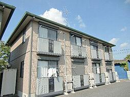 茨城県古河市本町3丁目の賃貸アパートの外観
