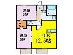 [一戸建] 茨城県古河市久能 の賃貸【/】の間取り