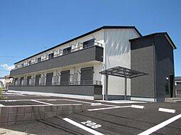 茨城県古河市坂間の賃貸アパートの外観