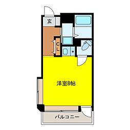 加古川尾上ヤングパレス[104号室]の間取り