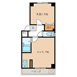 カーサソフィア3[1階]の間取り