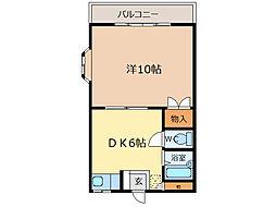 第2多田ビル[201号室]の間取り