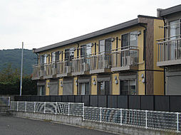 リースランド西原C棟[1階]の外観