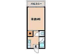 第三プリンスマンション[4階]の間取り
