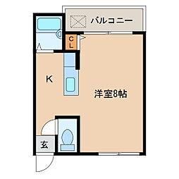 エスポワール華[1階]の間取り