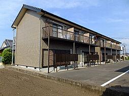 かりんハイツII[2階]の外観