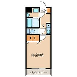 パンドラシャトー18、A[1階]の間取り