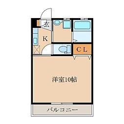 T・HOUSE5[102号室]の間取り