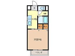 SurpIusタカハシ C[1階]の間取り