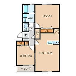 加藤ビルIII[3階]の間取り