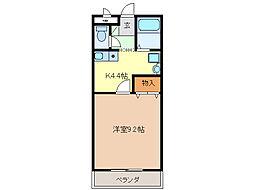 メゾン・ド・ビジュI[1階]の間取り