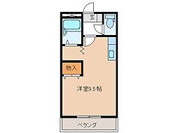 エスポワール T・R・H[1階]の間取り