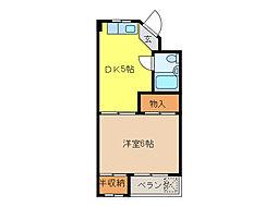 スペースタウン[1階]の間取り