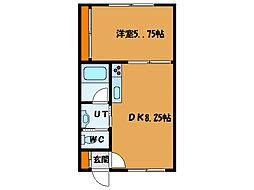 北海道函館市昭和3丁目の賃貸マンションの間取り